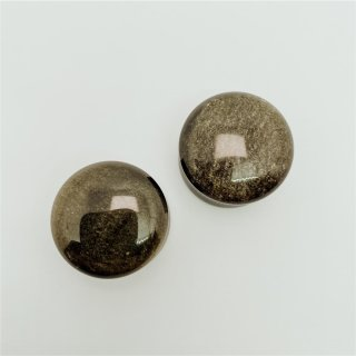 Goldsheen Obsidian Plugs