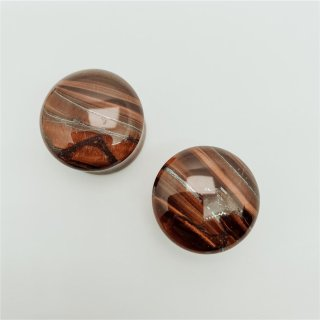 Red Tigers Eye Plugs