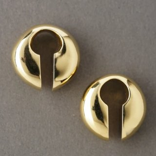 Solid Brass Keyhole Weight, Small