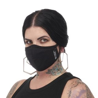 Cotton Plain Mask, Black